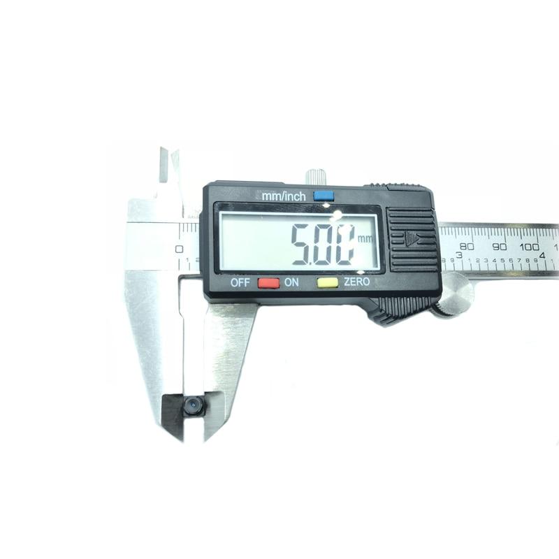 5*5 lente de visualización incorporado 650nm IR filtro Mini CCTV lente para todas las cámaras HD Mini CCTV