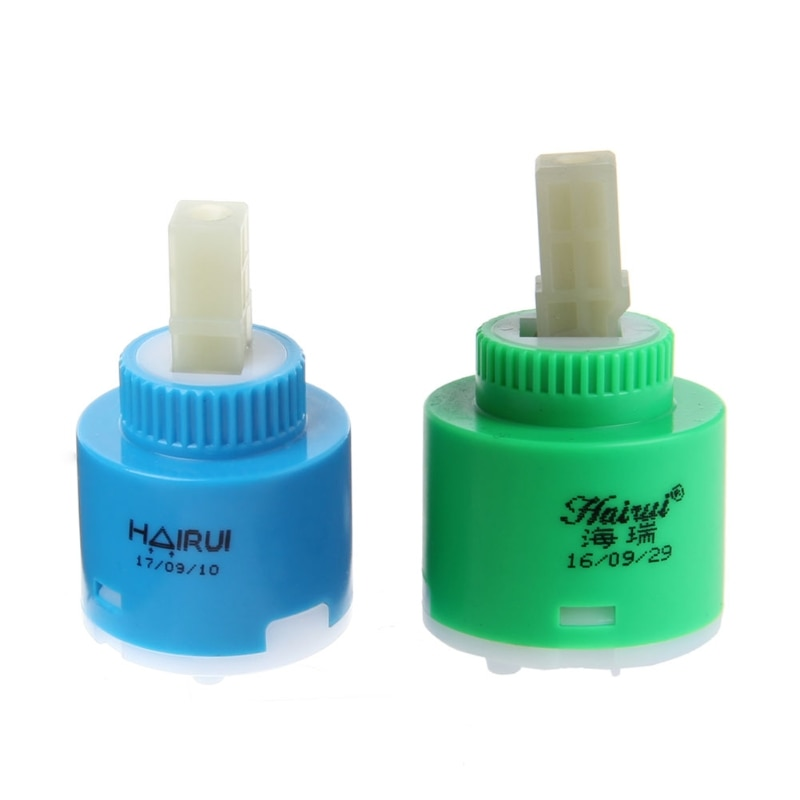 35mm/40mm Ceramic Disc Cartridge Inner Blue And Green Faucet Valve Water Mixer Tap For Faucet Replace Part