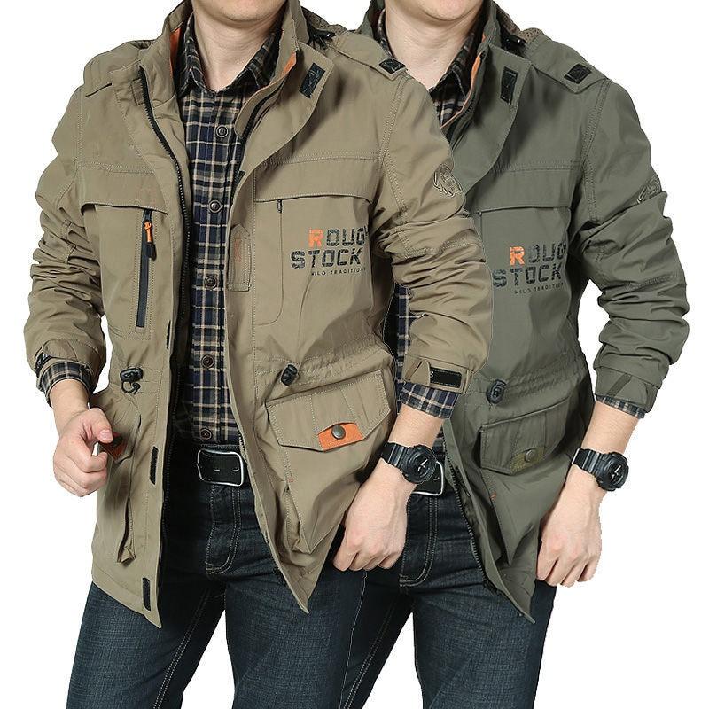 Мужская куртка Stormsuit, сезон весна-осень 2020, Повседневная рабочая одежда, мужская куртка среднего и большого размера