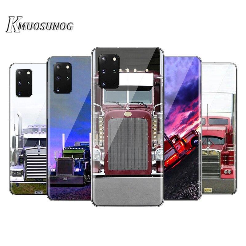 Grandes caminhões para samsung galaxy s20 ultra plus a01 a11 a21 a31 a41 a51 a71 a81 a91 silicone caso de telefone macio