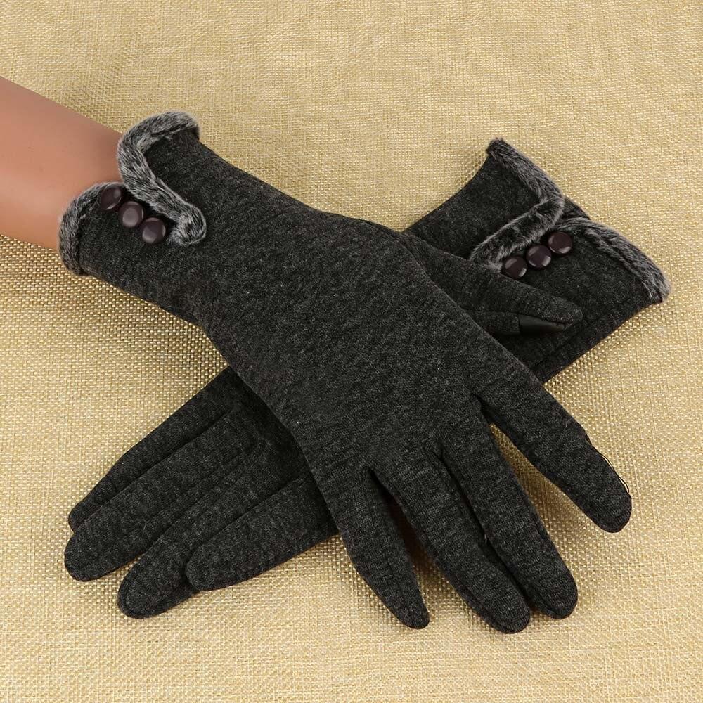 Sleeper # P501 2019 nuevas mujeres cachemir mantener caliente conducción guantes de dedo completo guante de pantalla táctil   guantes luva invierno caliente