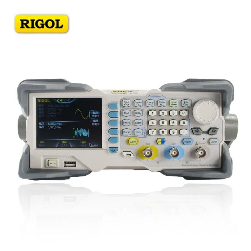Generador de señal de 2 canales RIGOL DG1032Z generador de funciones de frecuencia de 30MHZ de onda arbitraria integrado en 8 pedidos de armónicos