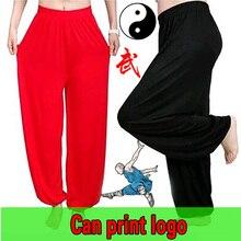 Chinois Kung Fu pantalon dentraînement arts martiaux pantalon tai chi pantalon en vrac bloomers yoga pantalon homme aile chun pantalon costume femme
