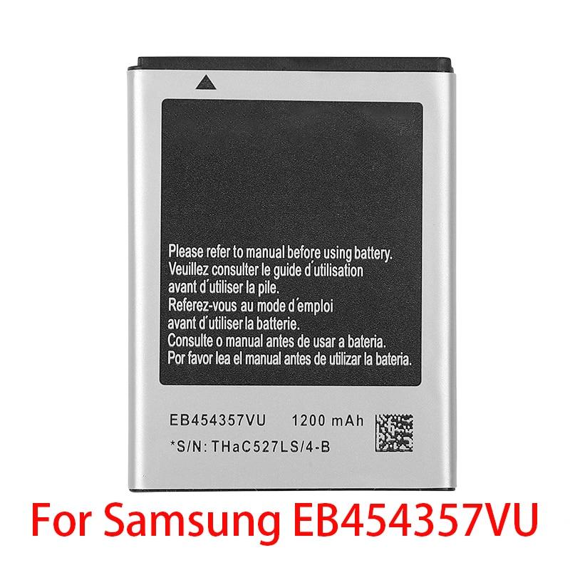 100% Real 1200mAh EB454357VU para Samsung Galaxy Y GT-S5360 Galaxy Y Duos S5368 S5380 S5380D Galaxy onda Y S5300 bolsillo