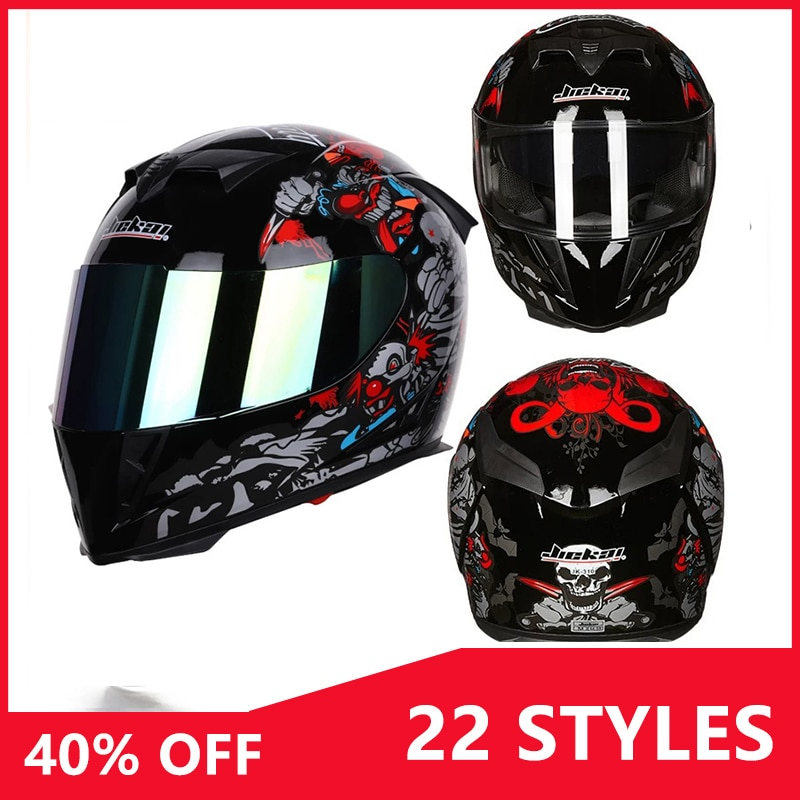 Para yamaha mt 09 honda dio af18 suzuki sv650 kawasaki z800 motocicleta rosto cheio capacete casco motocross moto acessórios