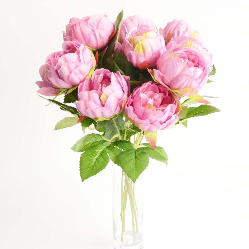 Alta calidad flor artificial Flor de boda de decoración del hogar flores
