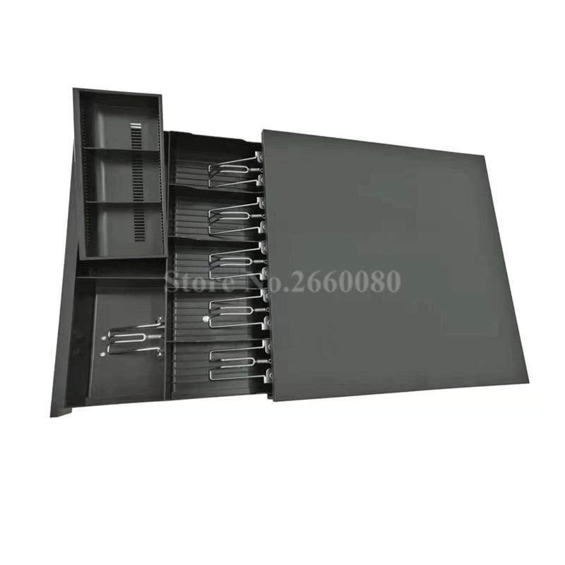 Cajón de caja registradora POS cajón de caja registradora cinco compartimientos tres secciones de la caja de efectivo con interfaz RJ11 para caja de cajero de supermercado