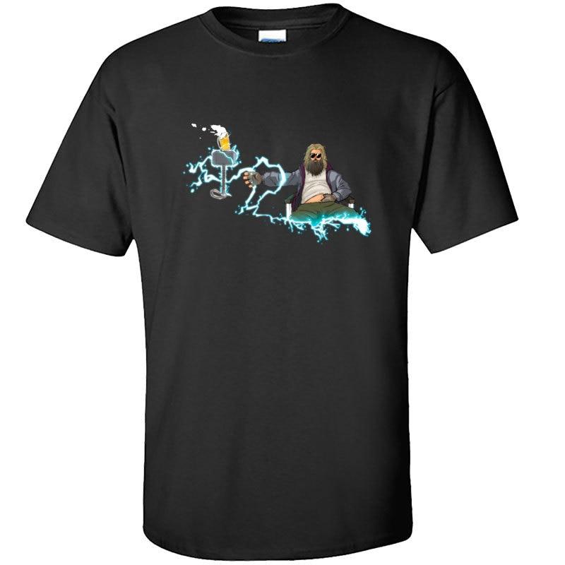 Camiseta de volta para o futuro super-herói camiseta de volta para o homem de final da guerra infiniter
