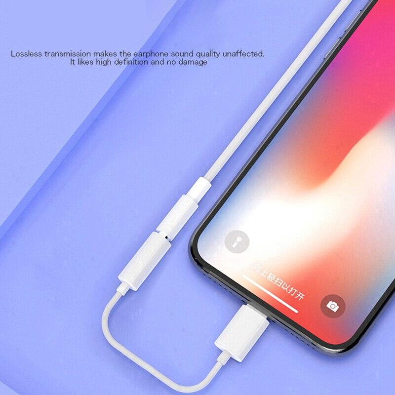 Adaptador de auriculares para iPhone 11 12 X XR 3,5, Adaptador de...