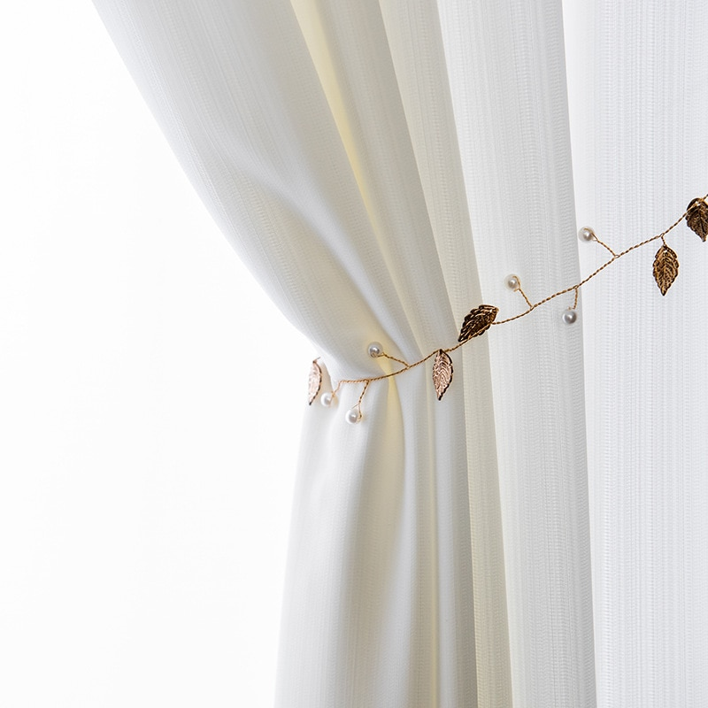 Solid Color Semi Sheer Tulle Curtains for Living Room Bedroom Window Treament Soft Hand Feeling Voile Curtains Drapes