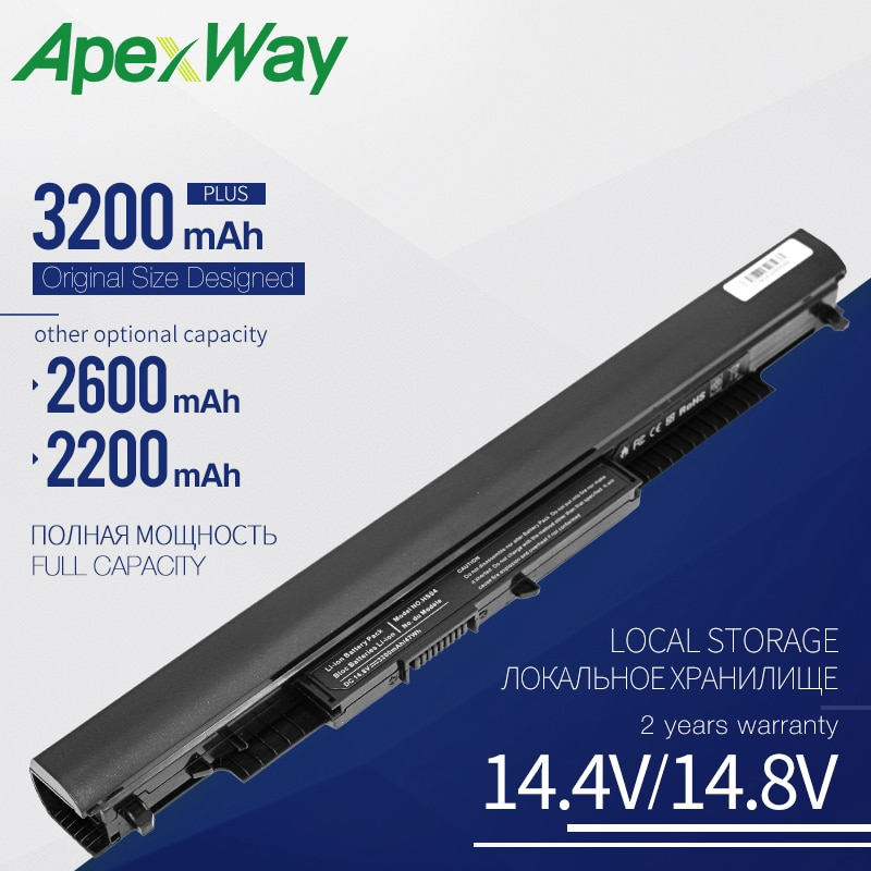 AliExpress - Apexway HS03 HS04 Laptop Battery for HP HSTNN-LB6U HSTNN-LB6V 807957-001 240 245 250 G4 14-ac0XX 15-ac0XX HSTNN LB6U Notebook PC