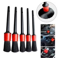 car exterior interior brush for car cleaning brush auto detail wheels tools composite wool yarn and plastic yarn durable