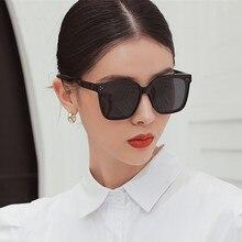 ROUPAI-lunettes de soleil uv400 hommes   Lunettes de soleil femmes et hommes, polarisées, grandes lunettes de soleil, carré noir, vintage, 2020