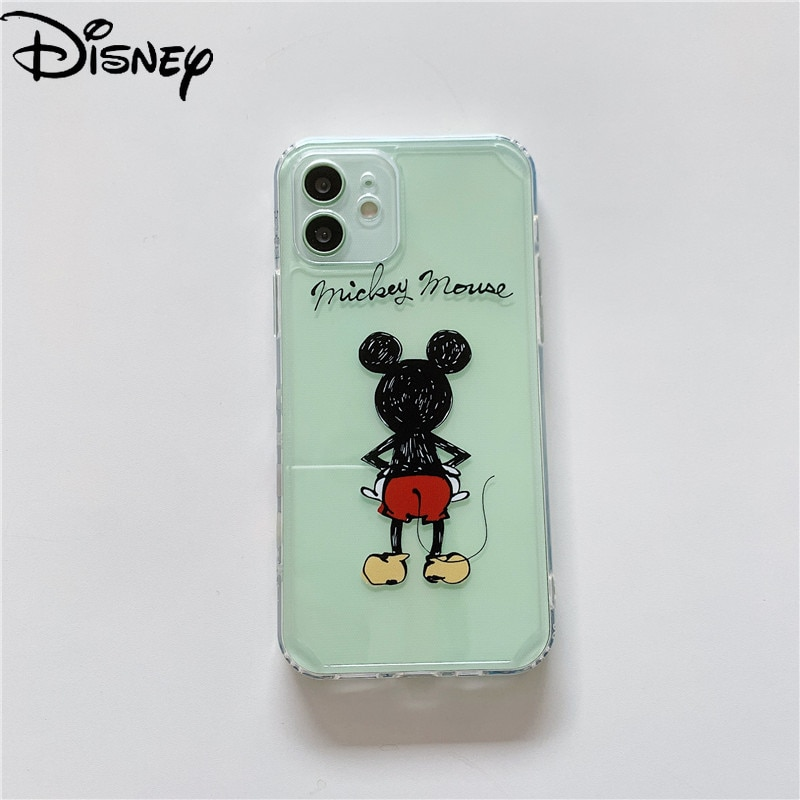 Disney phone case for iPhone12/11ProMax phone case XR/7Plus/7/8/x/xs/xsmax/11/12pro/12mini phone cover  - buy with discount