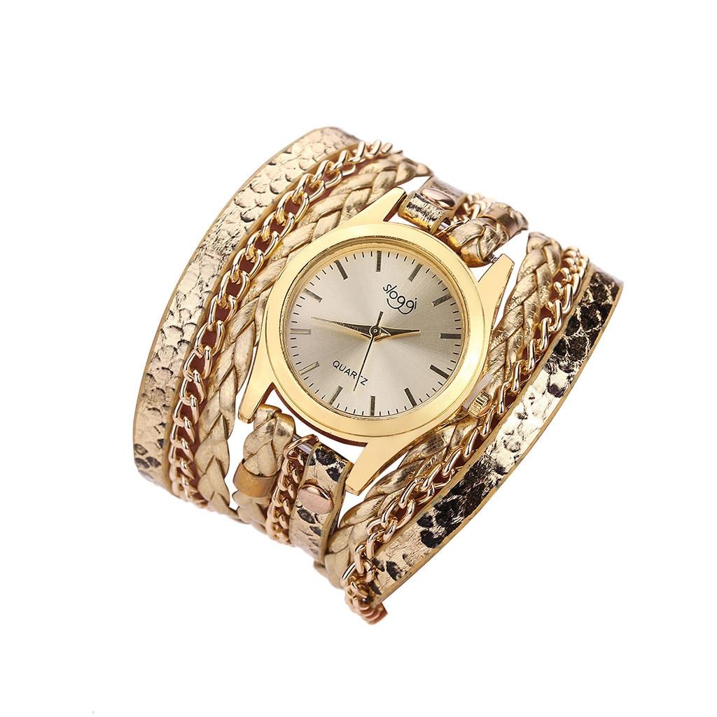 Relógios femininos senhoras relógio de quartzo moda pequena e delicada beleza simples casual tecido serpentina relógio de quartzo droshipping