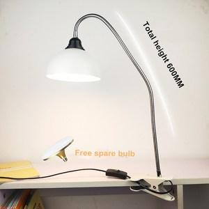 LED High Power Desk Lamp Clip-On Super Bright E27 20W 360 Degrees Adjustable Lamp For Bedroom/ Tatto Pole Portable Clip Lamp