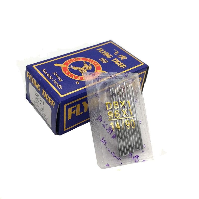 100 stücke Nähen Nadeln DBX1 Geeignet Für Alle Marke Industriesteppstich-nähmaschine Sänger 9#11#12# 14 #16 #18 # verschiedene Modelle