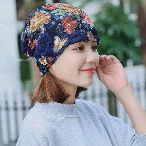 Новый Стиль Мода; Сезон весна-осень; Для взрослых для женщин обувь на теплом меху шапочки Skullies шарф двойной красоты брендовая Повседневная шапка с цветочным украшением из дверей кости