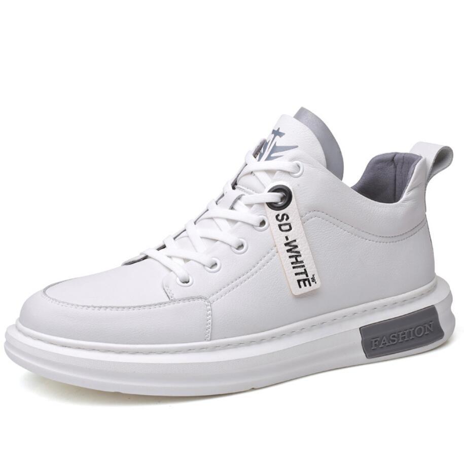 Zapatillas de deporte gruesas para Hombre, zapatos informales, antideslizantes, para caminar, correr,...