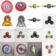 Main Spinner Fidget Spinner adulte enfant décompression jouets doigt Gyroscope grande roue 18 perles