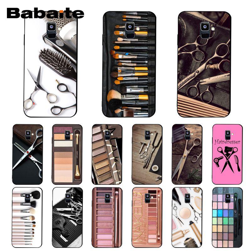 Babaite Naked Palette модный глэм Макияж инструмент для волос чехол для телефона Samsung Galaxy A7 2018 A50 A70 A8 A3 A6 A6Plus A8Plus A9 2018