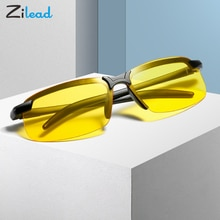 Zilead Polarized Sunglasses Change Color Lens Driving Sun Glasses Soft Sports Spectacles Night Visio