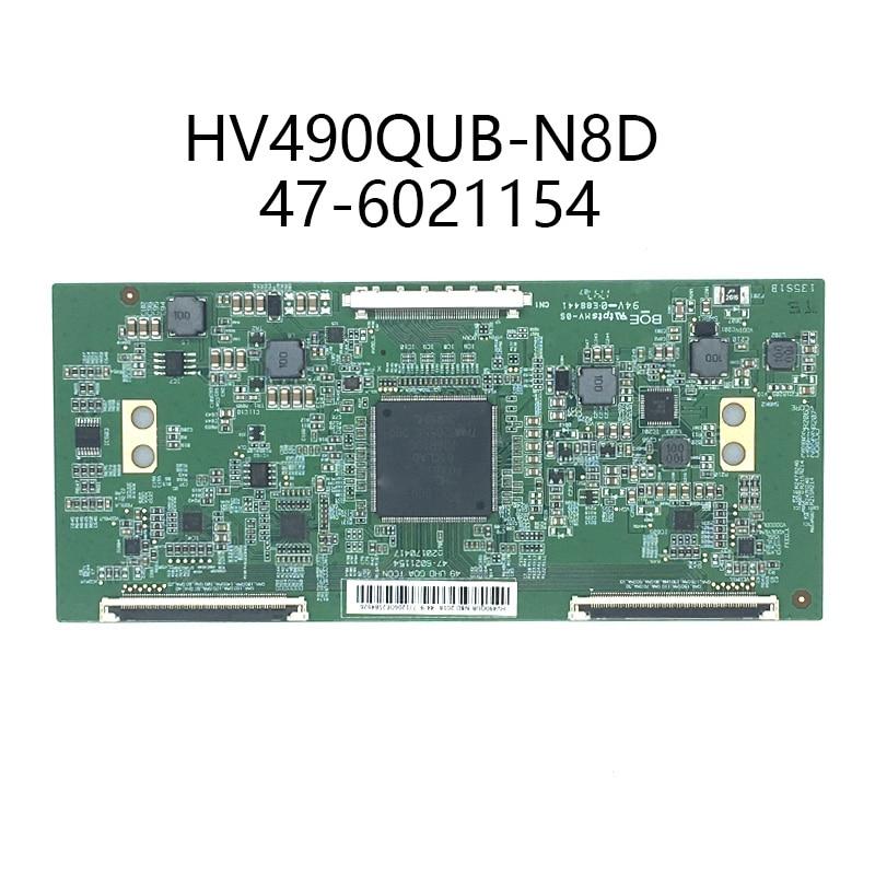 Test 100% HV490QUB-N8D 47-6021154 tablica logiczna 49 cali 4K