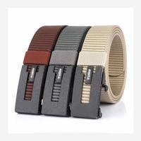 new fashion casual canvas pants belts mens designer belts mens belts nylon belts alloy automatic buckle vest pattern