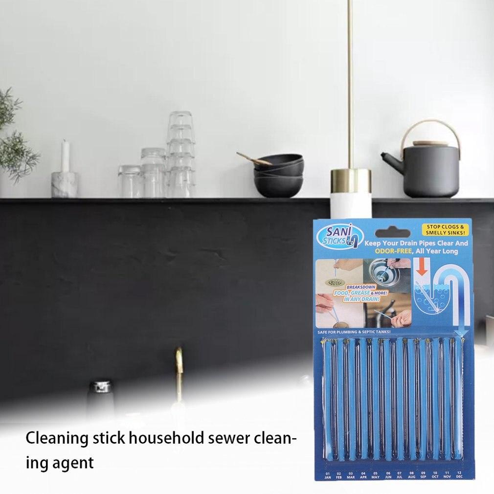 Limpiador de desagües y desodorizante de palos, desbloqueadores de fregadero de aceite, limpiador de tuberías de alcantarillado, herramienta de dragado, barra para juego de cocina
