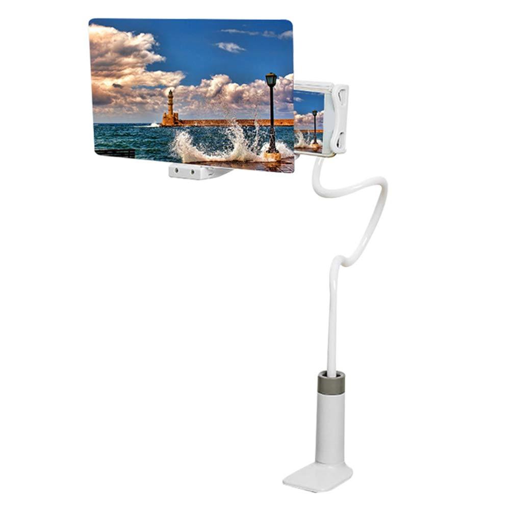 8/12 inch Table Cell Phone Support holder Screen Magnifier Phone Holder High Definition Projection Bracket Phone Desktop Holder
