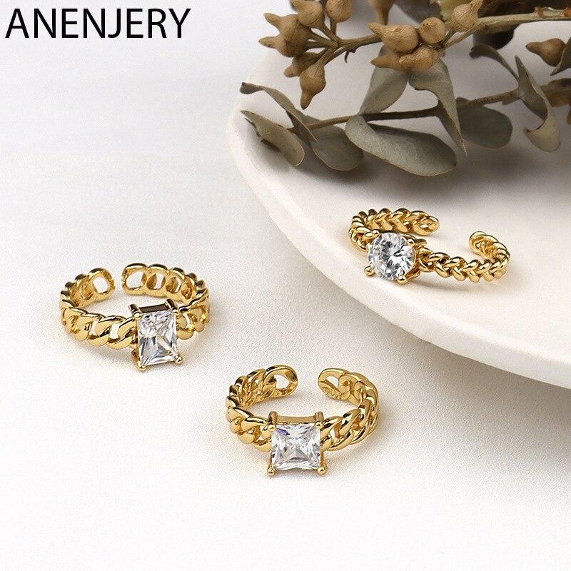 Серебряное-кольцо-goldria-с-квадратным-цирконием-в-форме-цепи-для-женщин-Элегантное-открытое-кольцо-ювелирные-изделия-в-подарок