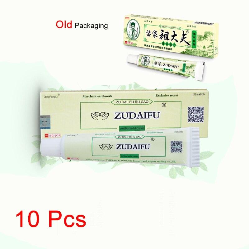 10 Pcs Zudaifu Psoriasis Cream Skin Care Cream Psoriasis Dermatitis Eczematoid Eczema Ointment Treat