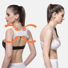 New Adult Children Back Posture Corrector Clavicle Back Support Correction Back Straight Shoulders B
