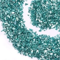 crushed glass glitter metal chips for diy jewelry making nail art decoration coaster filling decorative crystal for epoxy resin