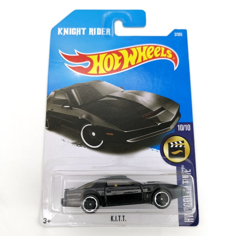 HOTWHEELS ماتيل HOTWHEELS سيارة رياضية صغيرة سبيكة سيارة فيلم فارس رايدر عدة سيارة رياضية K.I.T.T.