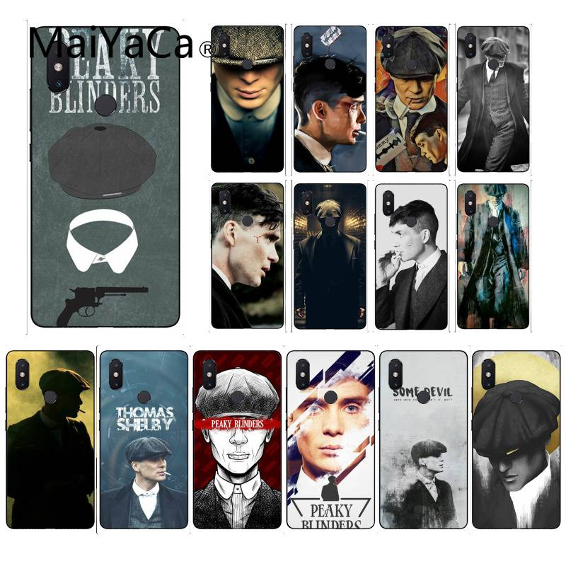MaiYaCa Sharp Visors Coque PEAKY BLINDERS TPU Soft Silicone Phone Case Cover For XiaoMi 6 MIX2 8SE K