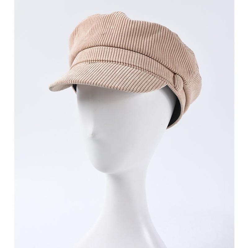 Gorros militares de pana para Otoño e Invierno 2019, gorras de marinero a la moda para mujer, gorras militares, sombrero marino para mujer
