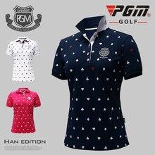 Female Fashion Tops Apparel Lady Polo Shirt S-Xl Sportswear Golf Tennis Run Dry Fit Breathable Women Short Love Tshirt Clothes