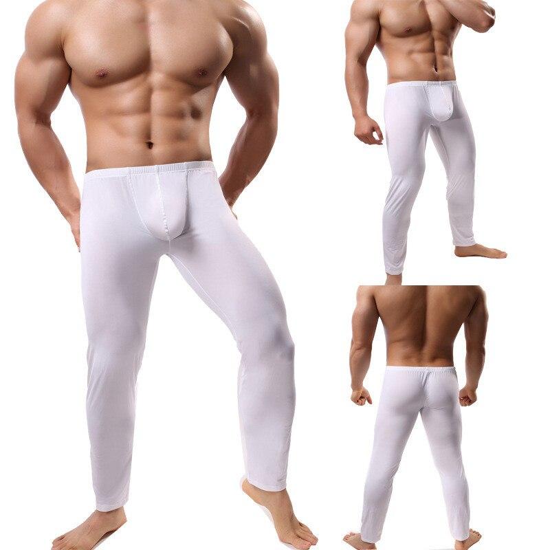 2021 Winter Underwear Men Thermal Underpants Breathable Sleep Bottoms Warm Underpants Long Johns Men