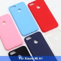 Мягкий Силиконовый ТПУ чехол для Xiaomi Mi A1, матовый чехол-накладка для Xiaomi Mi A1 (Mi 5X)