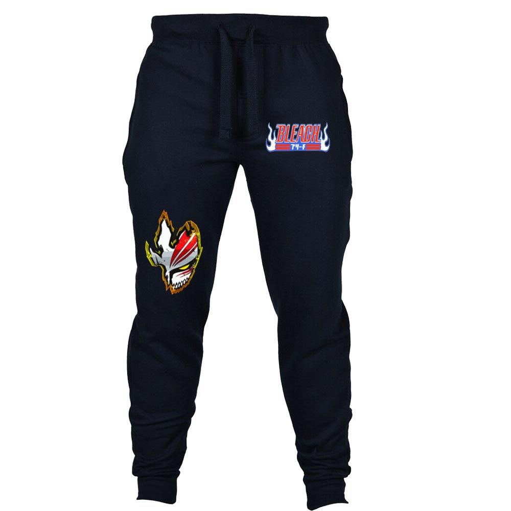 Японские Аниме отбеливающие брюки, мужские повседневные брюки, штаны для бега, Мужские осенне-зимние спортивные брюки, спортивный костюм, к...
