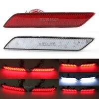 1 pair led rear bumper rear reflector light for honda crider for honda civic 2013 2015 tail stop brake light turn signal lamp