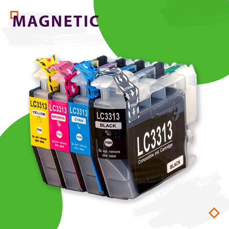 Lc3313 3313XL متوافق ل LC3313 3313 الحبر متوافقة Catridge لأخيه MFC-J491DW MFC-J497DW MFC-J690DW MFC-J895DW طابعه