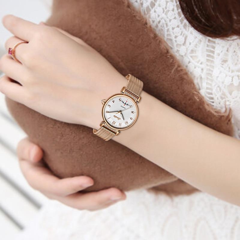 Montre Femme 2021 SUNKTA Fashion Luxury Watch Women Steel Strap Waterproof Ladies Dress Quartz Wristwatch Female Girl Gift Clock enlarge