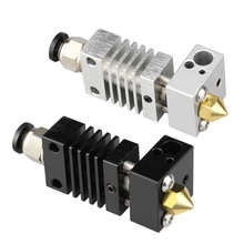 All Metal Hotend Kit upgrade CR10 extruder Titanium Alloy heater break 1.75MM 4.1MM for Creality CR-10 Printer High temperature