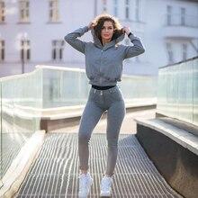 Melody Leggings Women Gray Fashion Women Ladies Slimming Skinny Shapewear Pants Fitness Legging Stretch