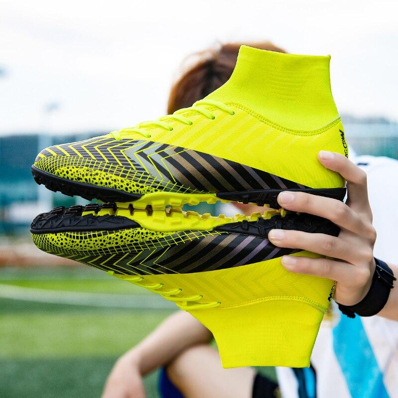 Спортивные кроссовки, размер 35-45, футбольные бутсы для улицы, луга, мужские футбольные бутсы для мальчиков, детские бутсы бутсы для мальчиков demix quantum ps tf размер 32