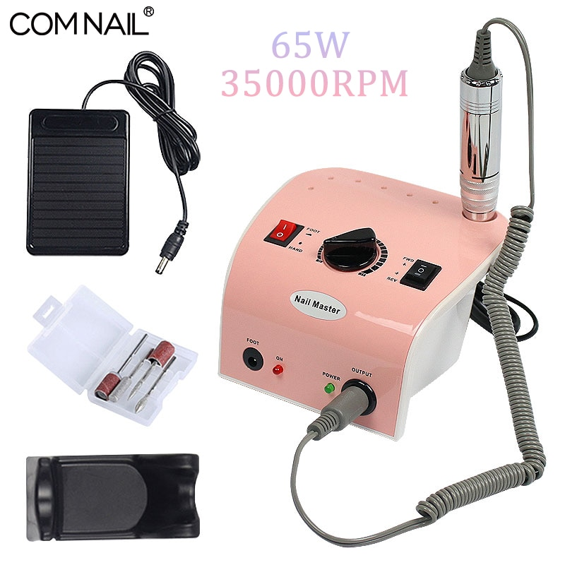 65W 35000RPM Nail Drill Machine for Manicure Mill Cutter Polishing Nails Surface 3 Colors Available