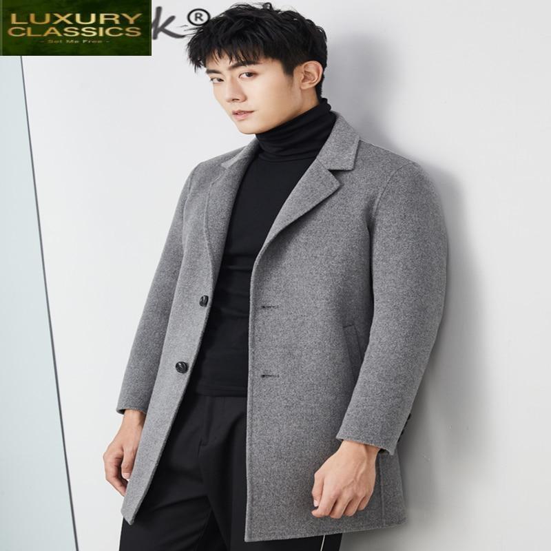 100% casuales de moda de lana de los hombres ropa de 2021...