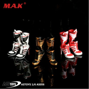 """ASTOYS AS056 1/6 Female High Heel Shoes Boots Model for 12"""" Action Figure Body Women shoes High heel"""